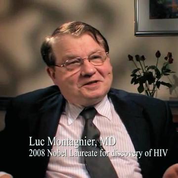 Prof. Luc Montagnier - Prêmio Nobel