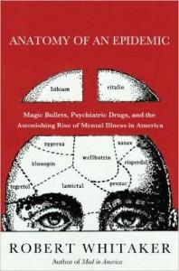 """Robert Whitaker: """"O número de jovens dependentes da seguridade social por motivo de doença mental após a introdução dos ISRS (Ex.: fluoxetina, sertralina) aumentou 3400%!"""