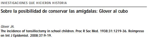 As amigdalectomias na Inglaterra e País de Gales mostraram variações de até 17 vezes, sugerindo uma tomada de decisão arbitrária e sem fundamento científico.
