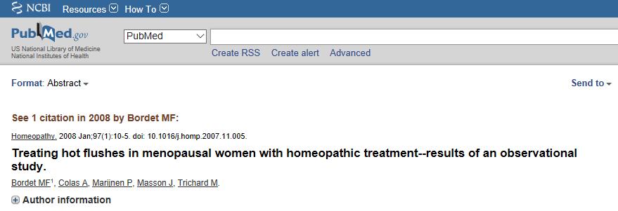 Bordet, 2008: Noventa por cento das mulheres informaram desaparecimento dos sintomas principalmente dentro dos 15 dias do início do tratamento