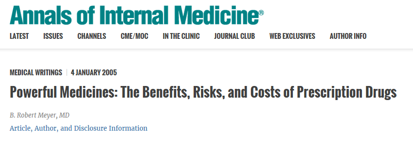 A indústria farmacêutica estava por trás de muitas iniciativas para estimular as vendas de medicamentos da TRH