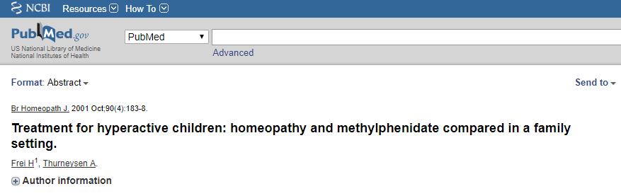 homeopatia e tdah