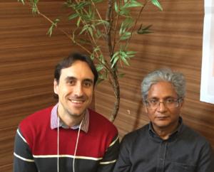 Dr. Lucas Pacheco e Dr. Rajan Sankaran - Curitiba, 2017